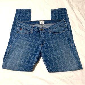 Hudson Krista Super Skinny Deco Jeans Size 28